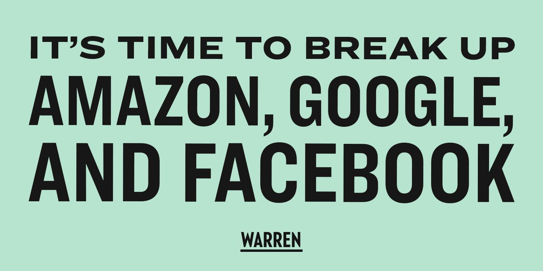 Elizabeth Warren GAFA
