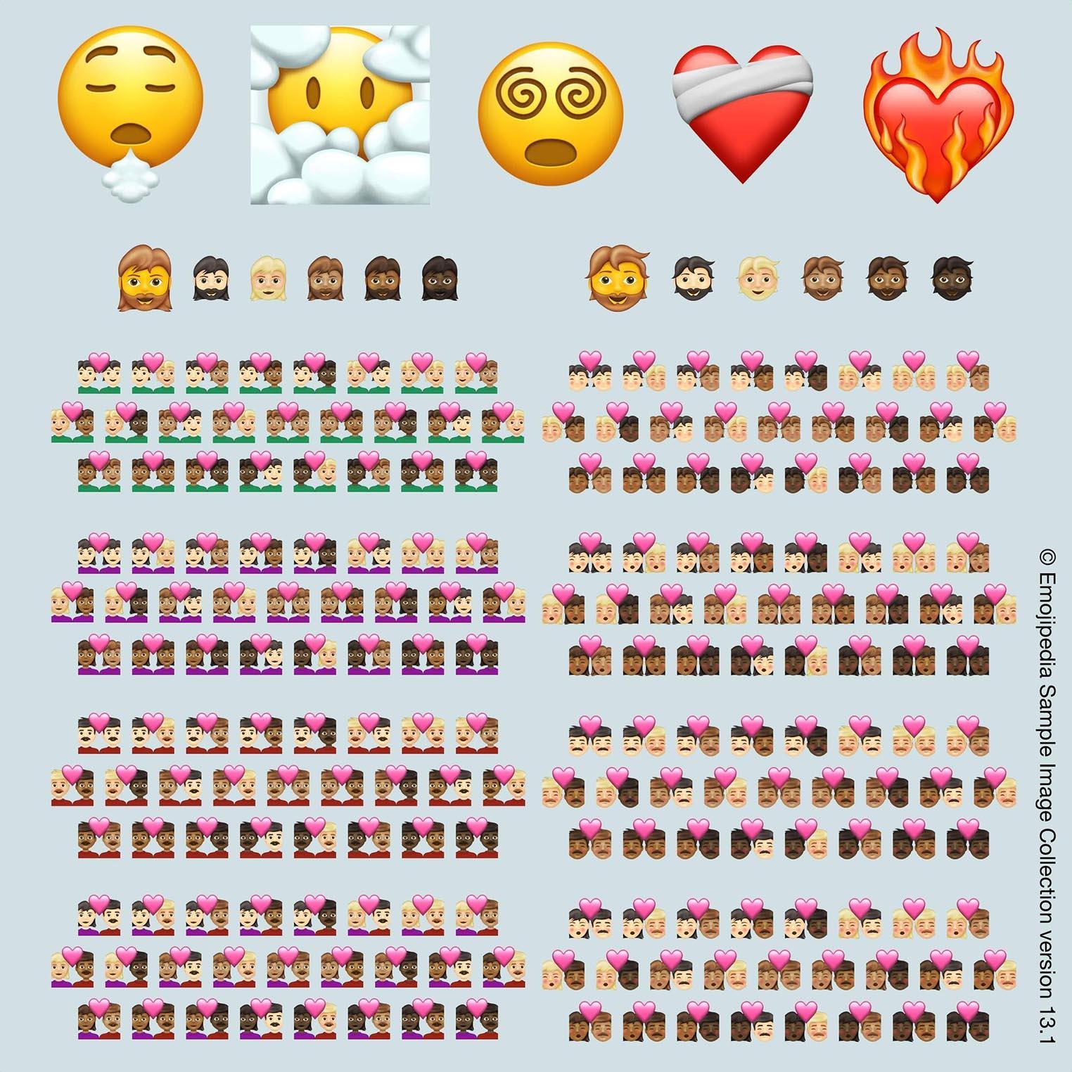 Emojis 13.1 2021