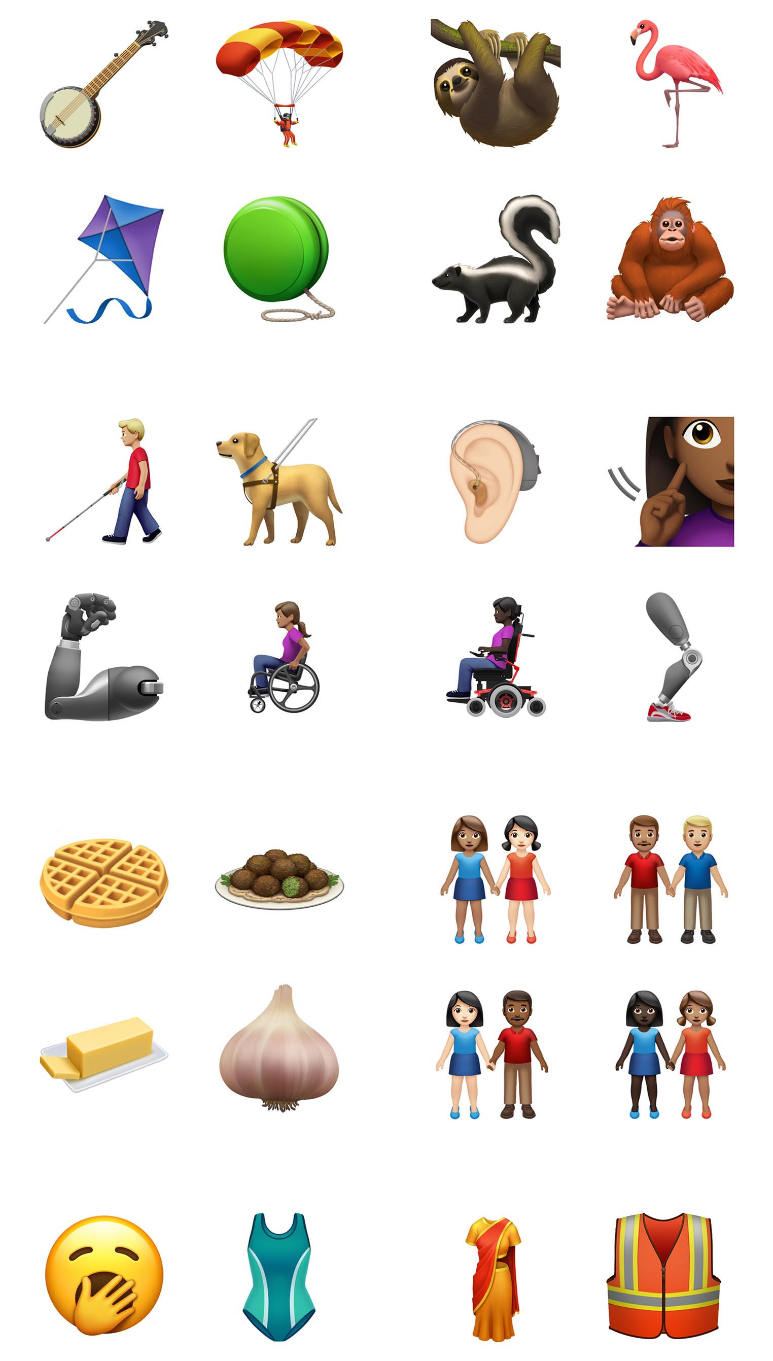 Emojis Apple 2019