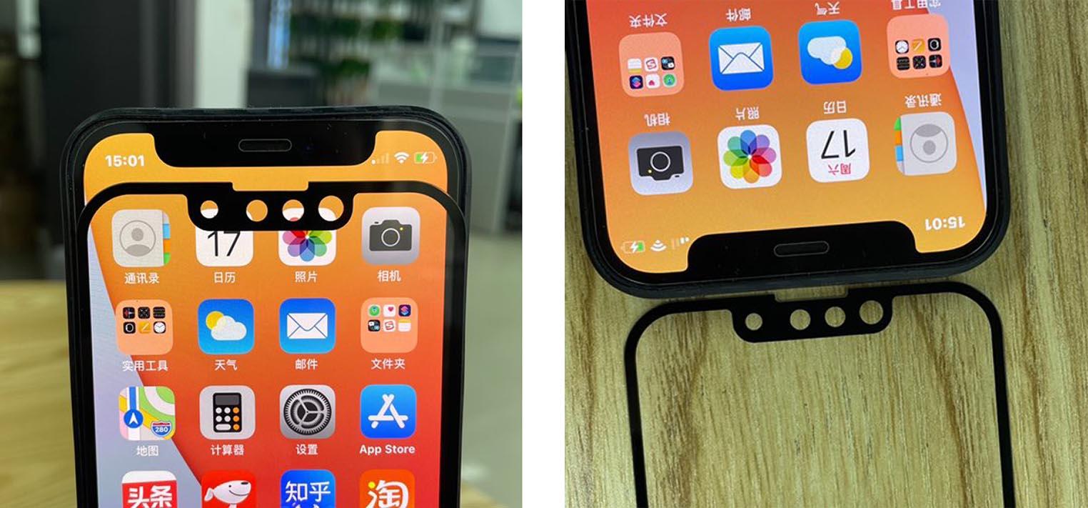 Comparaison Encoche iPhone 13