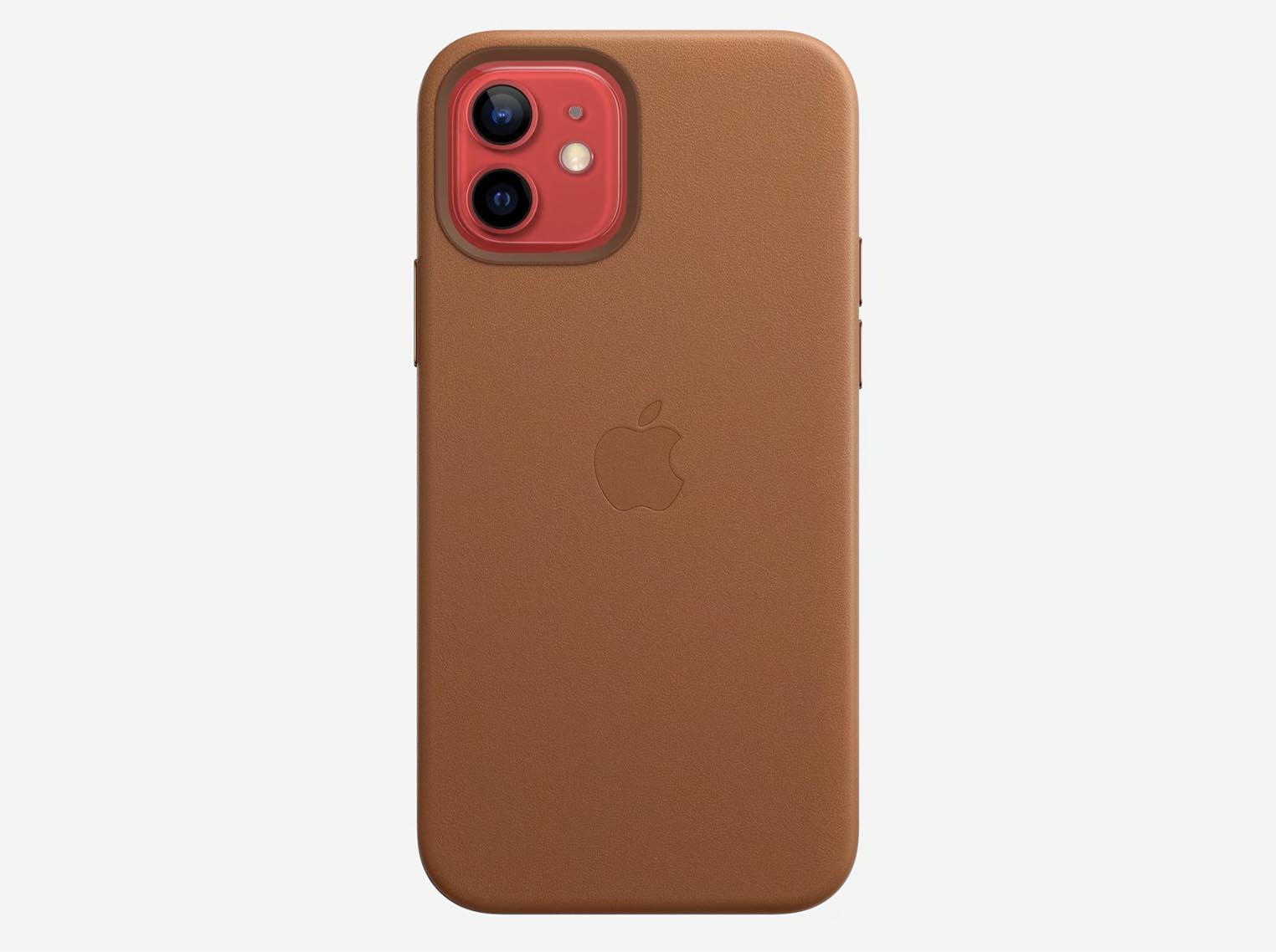 Étui en cuir iPhone12