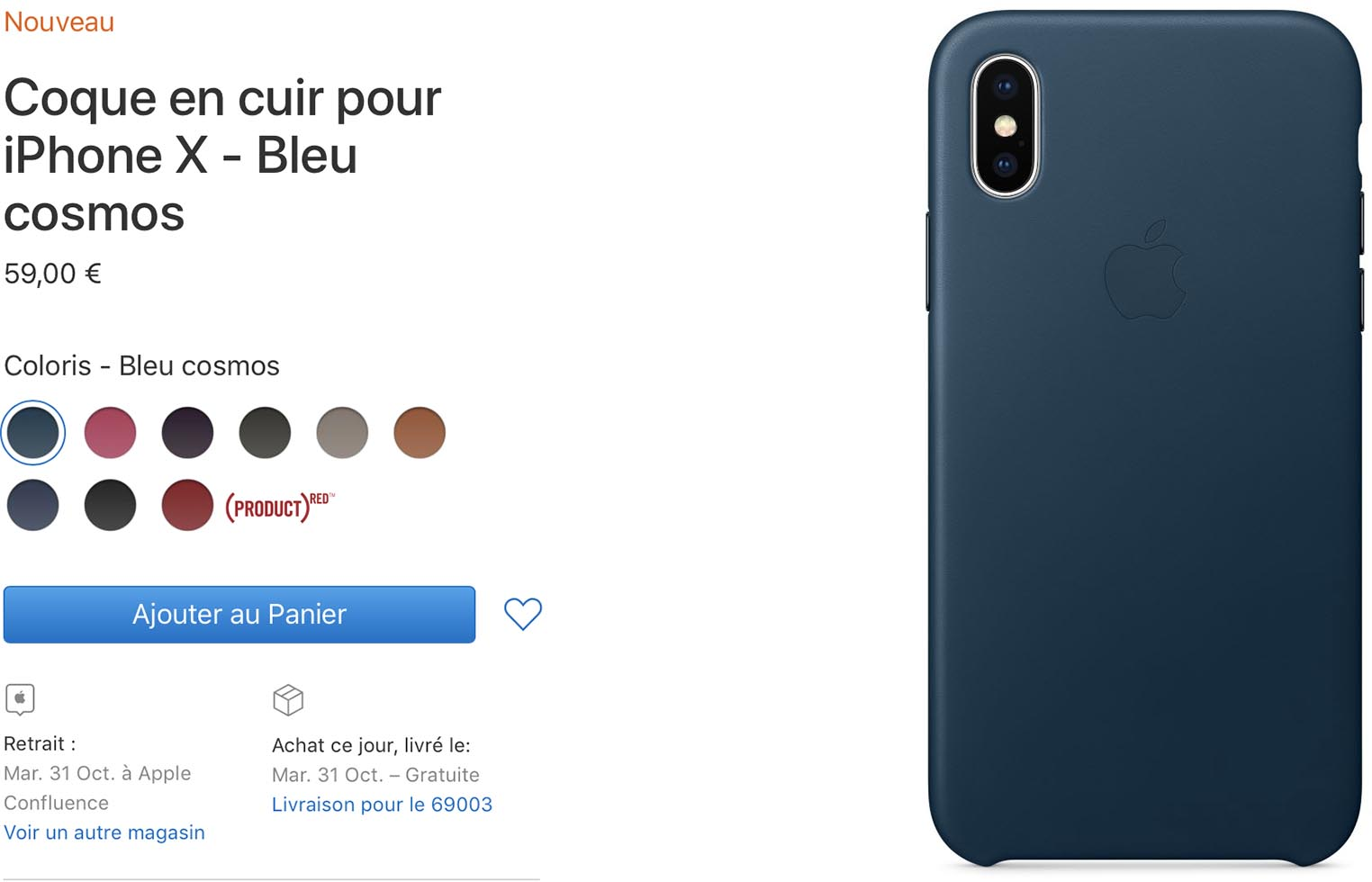 chargeur coque iphone x