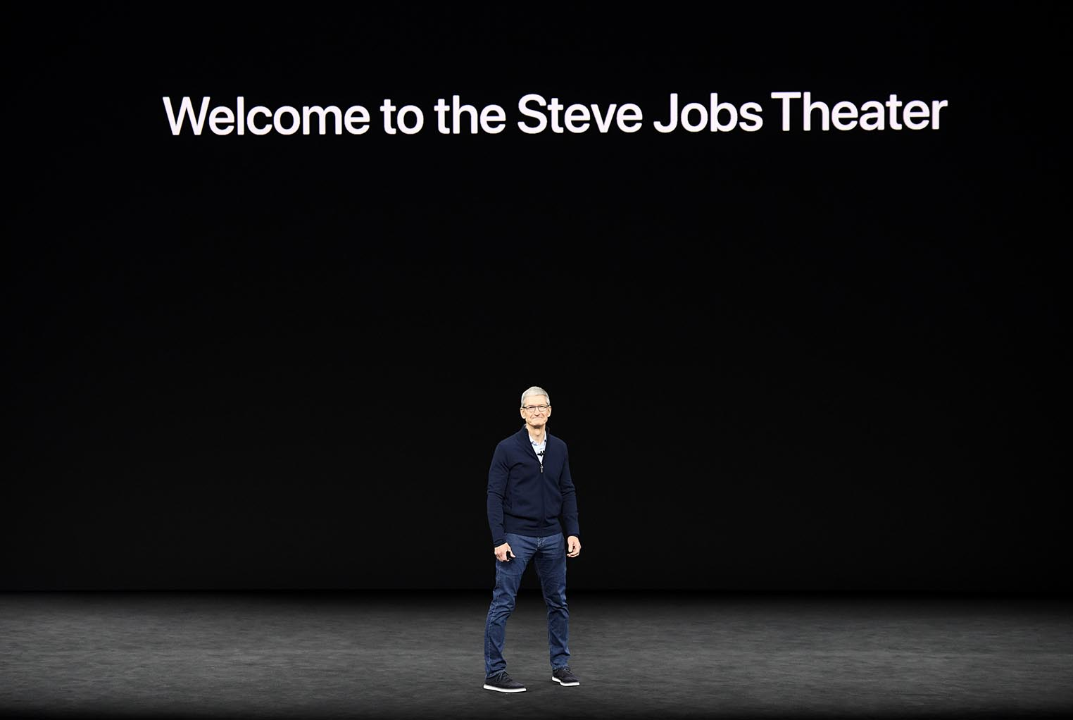 Welcome to the Steve Jobs Theater
