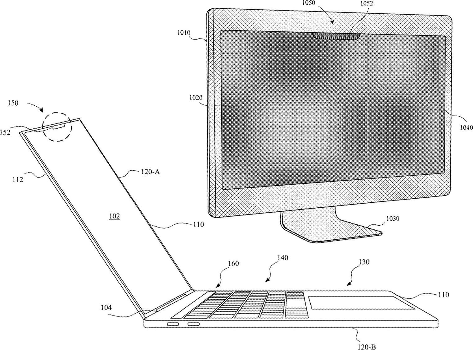 Face ID iMac brevet