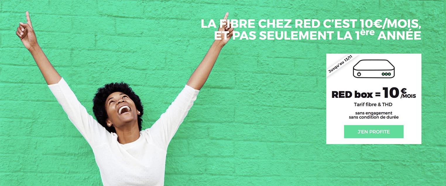 Fibre SFR RED