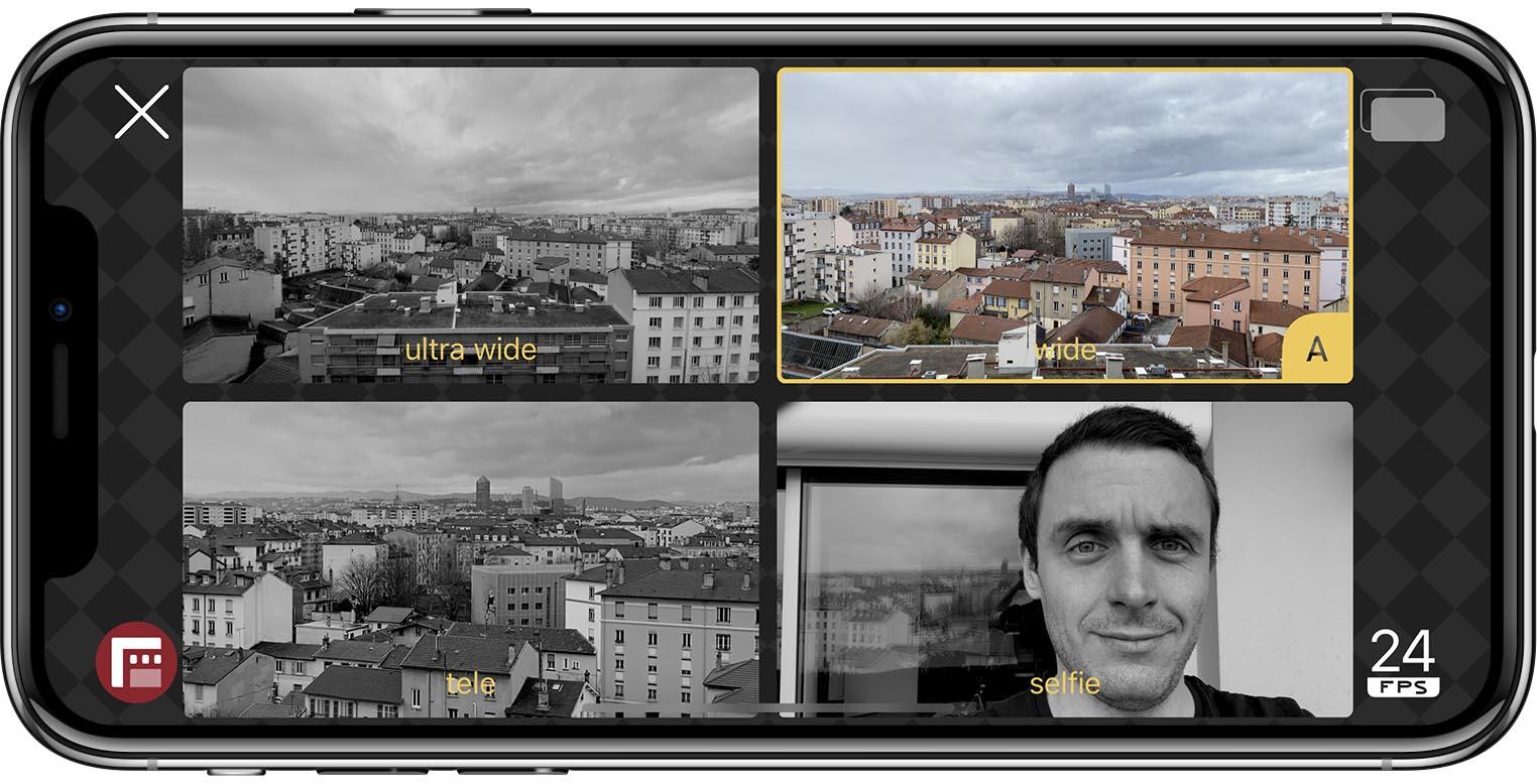 Filmic DoubleTake app