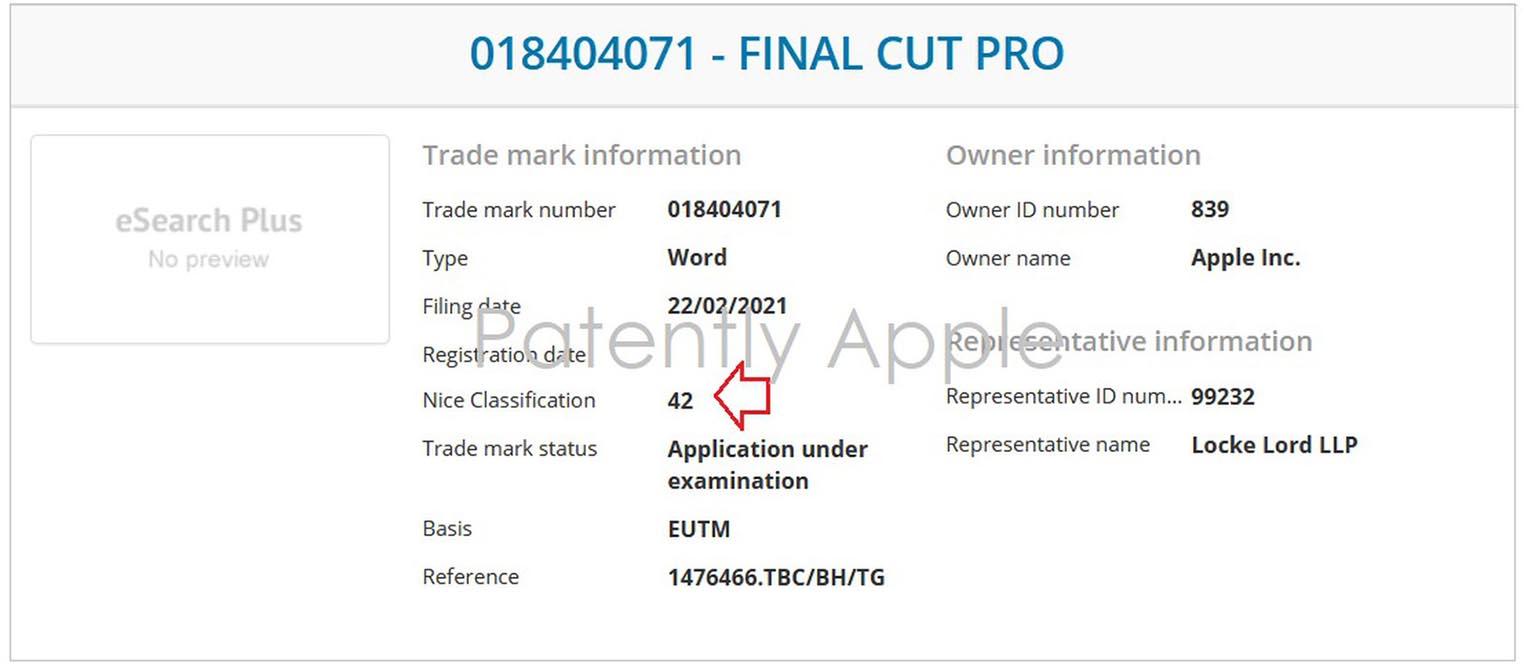 Final Cut Pro marque
