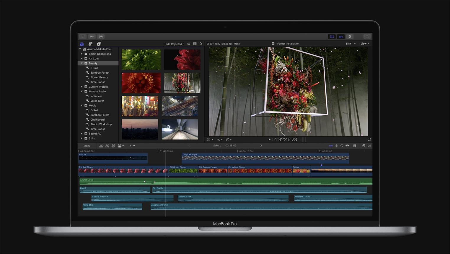 Final Cut Pro MacBook Pro