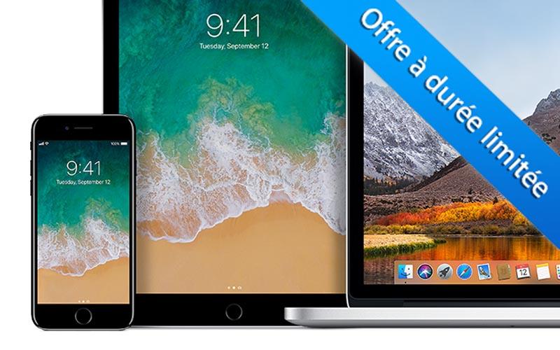 Le crédit à 0% de retour sur l'Apple Store