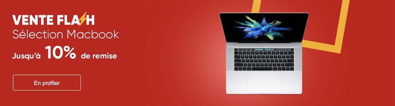 Mac vente flash Fnac