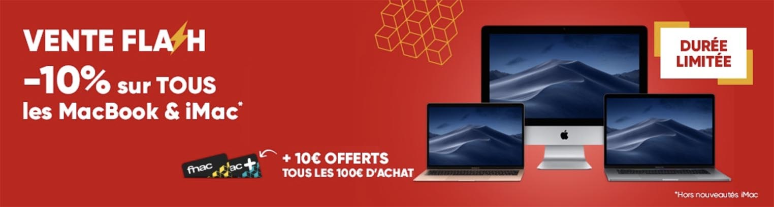 Promo Fnac Mac