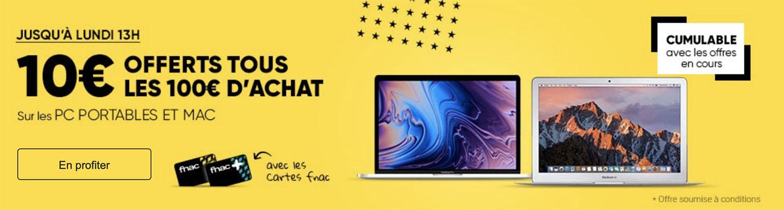 Promo MacBook Fnac