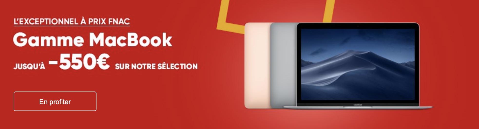 Promo Fnac MacBook