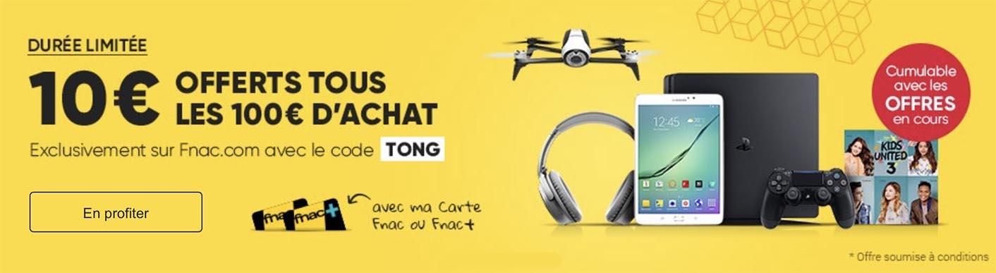 Fnac promo TONG