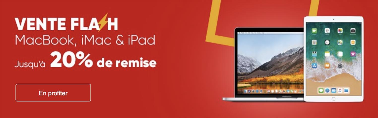 Promo Mac iPad Fnac