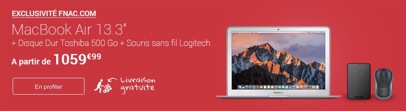 Promo Fnac MacBook Air
