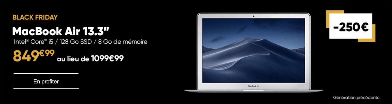 MacBook Air Black Friday Fnac