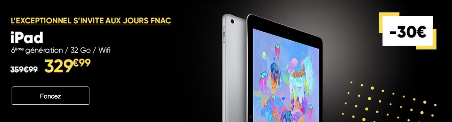 Promo Fnac iPad