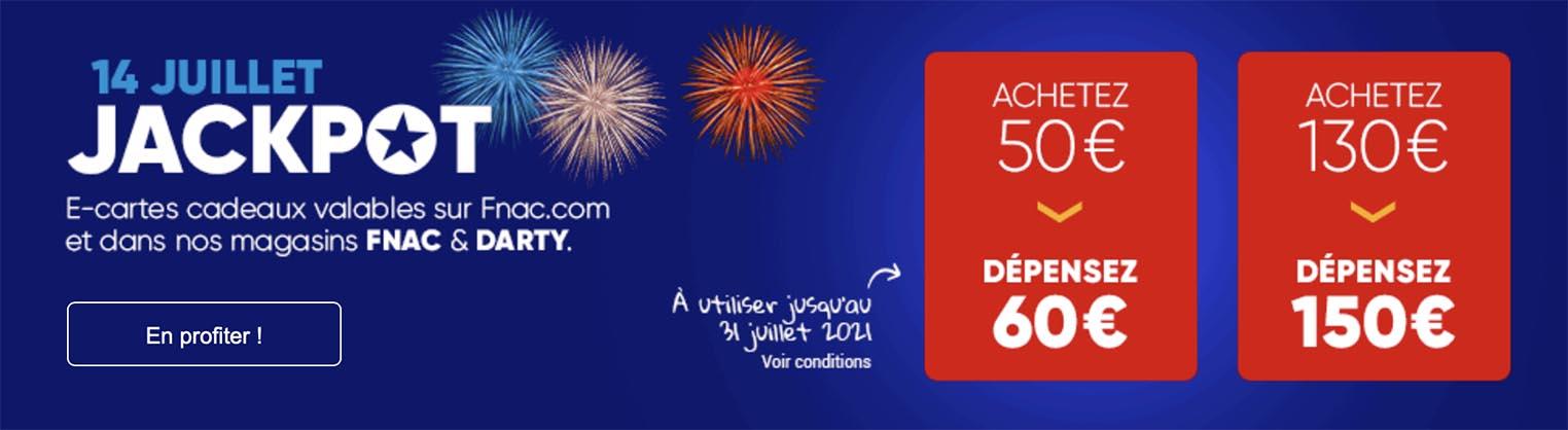 Promo cartes cadeaux Fnac