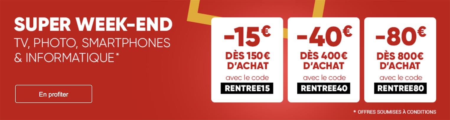 Fnac Super Week-end