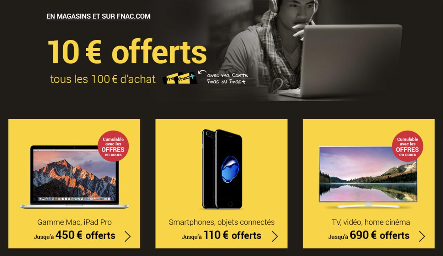 Promo Fnac Apple