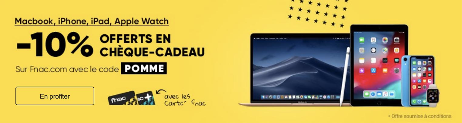Fnac Promo Apple
