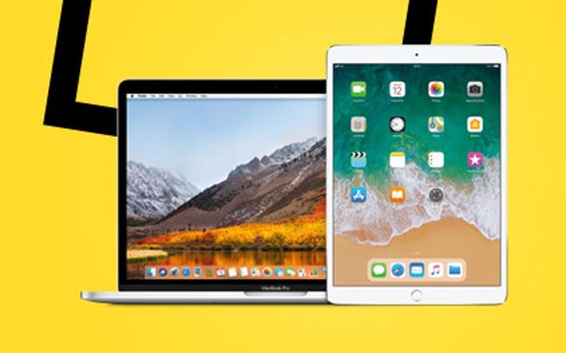 De belles promos sur le Mac et l'iPad à la Fnac