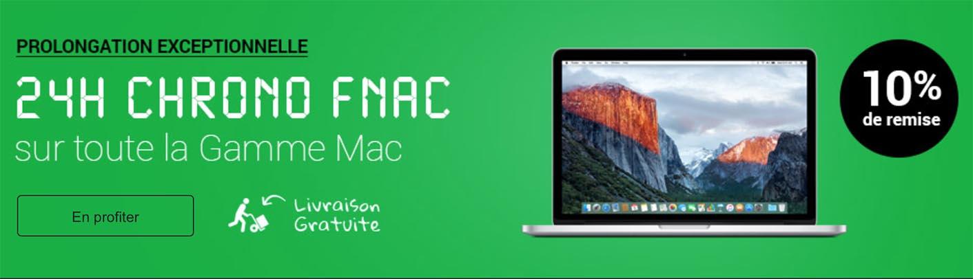 Fnac promo Mac
