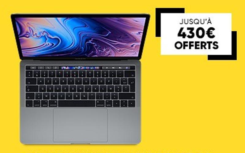 15 € tous les 100 € dépensés et ventes flash Mac à la Fnac