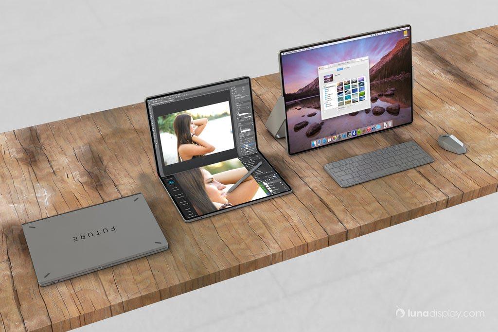 iPad pliable concept