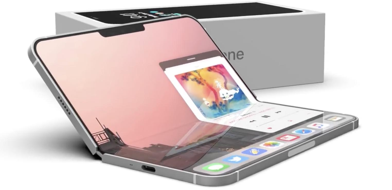 iPhone pliable