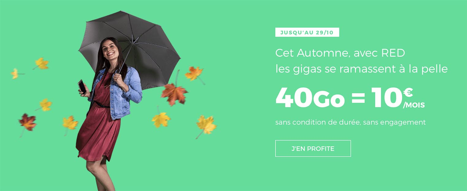 Promo forfait RED