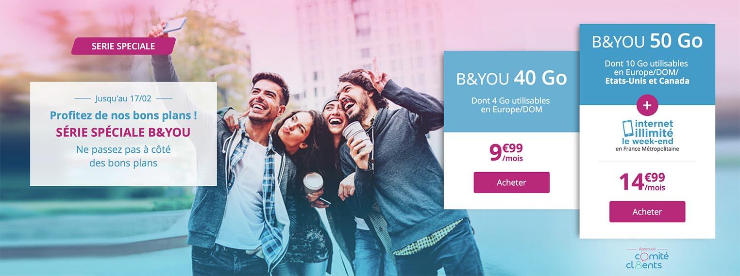Promo forfait Bouygues Telecom