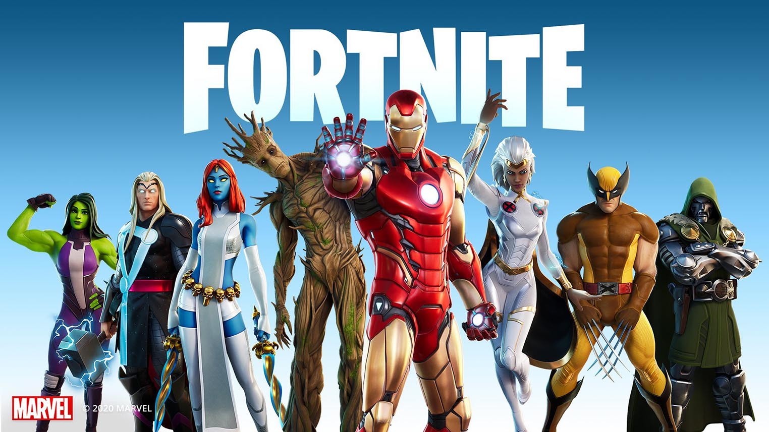 Fortnite Marvel chapitre 2 saison 4