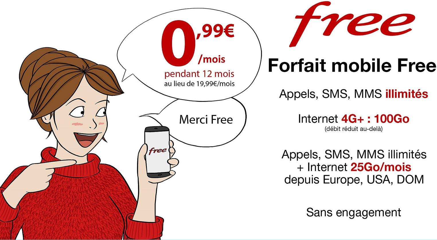 Free Mobile promo Vente Privée