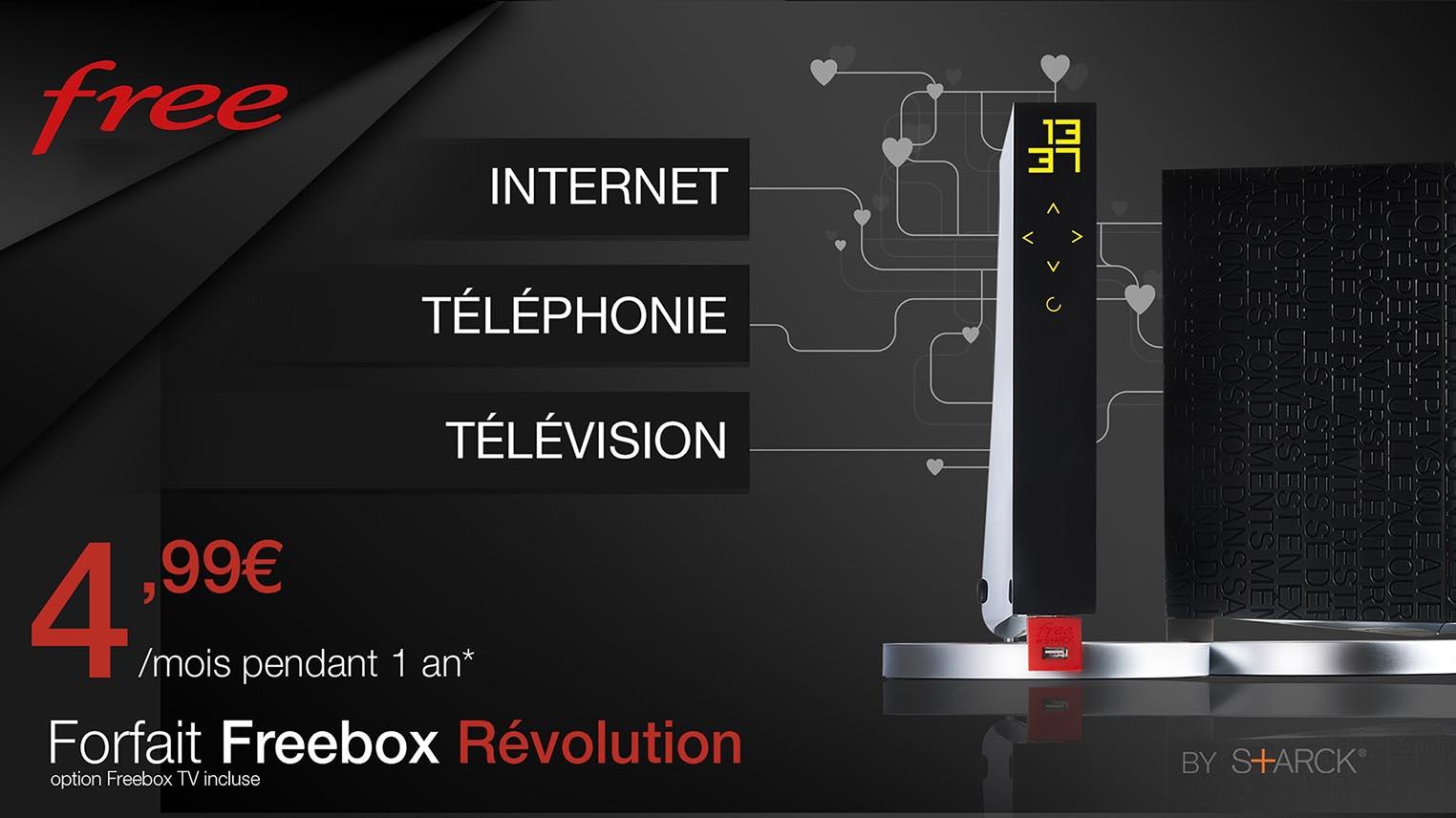 Freebox Révolution Vente Privée