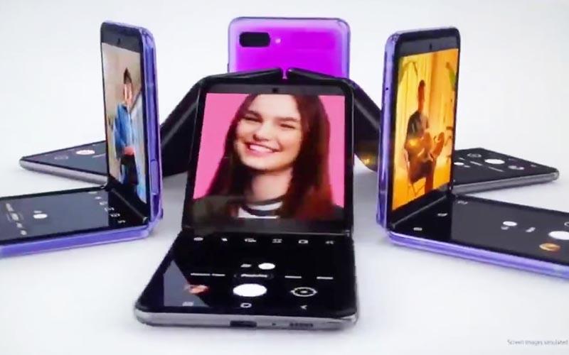 Écran pliable : Samsung lève le voile sur le Galaxy Z Flip