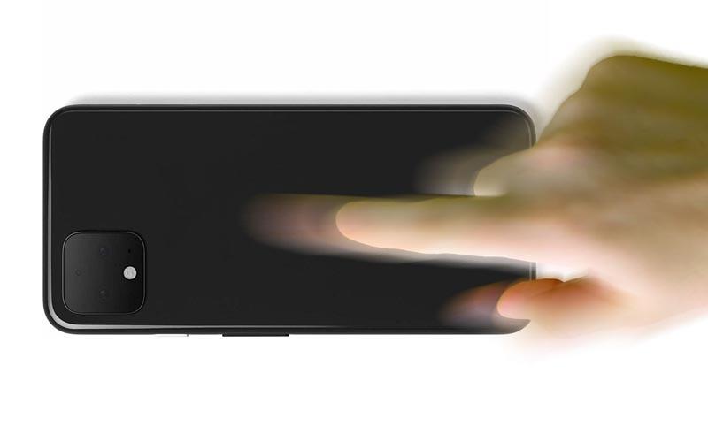 Pourrait-on lancer des actions en tapant sur le dos de l'iPhone ?