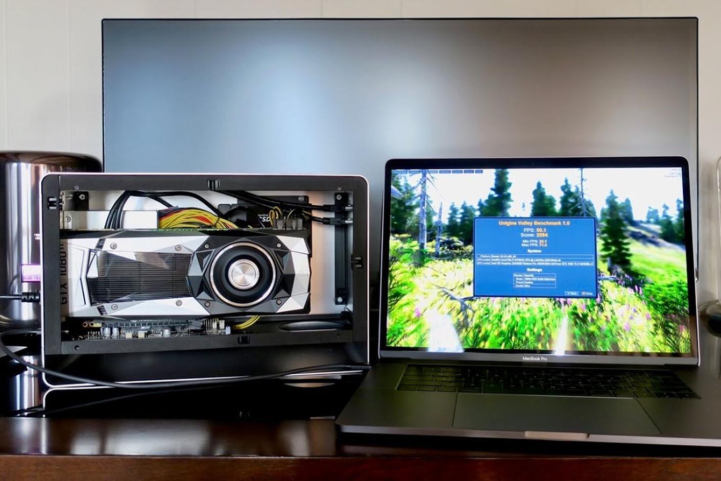 Nvidia GTX 1080 Ti MacBook Pro