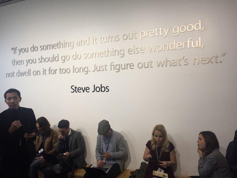Apple Cupertino Steve Jobs citation