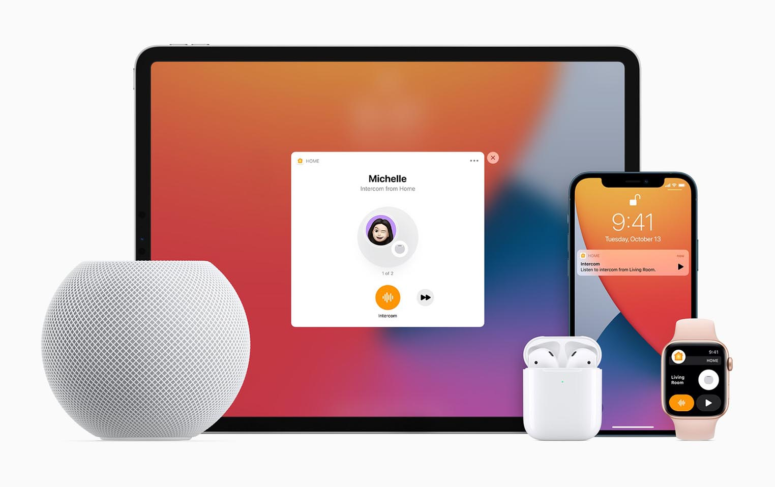 HomePod Annonces Interphone