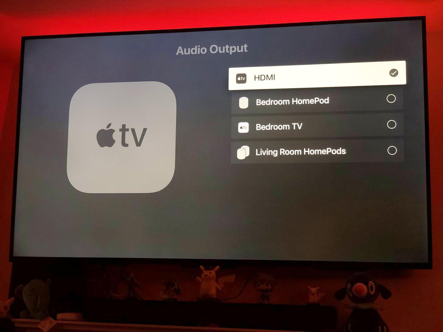 HomePod Apple TV tvOS 12