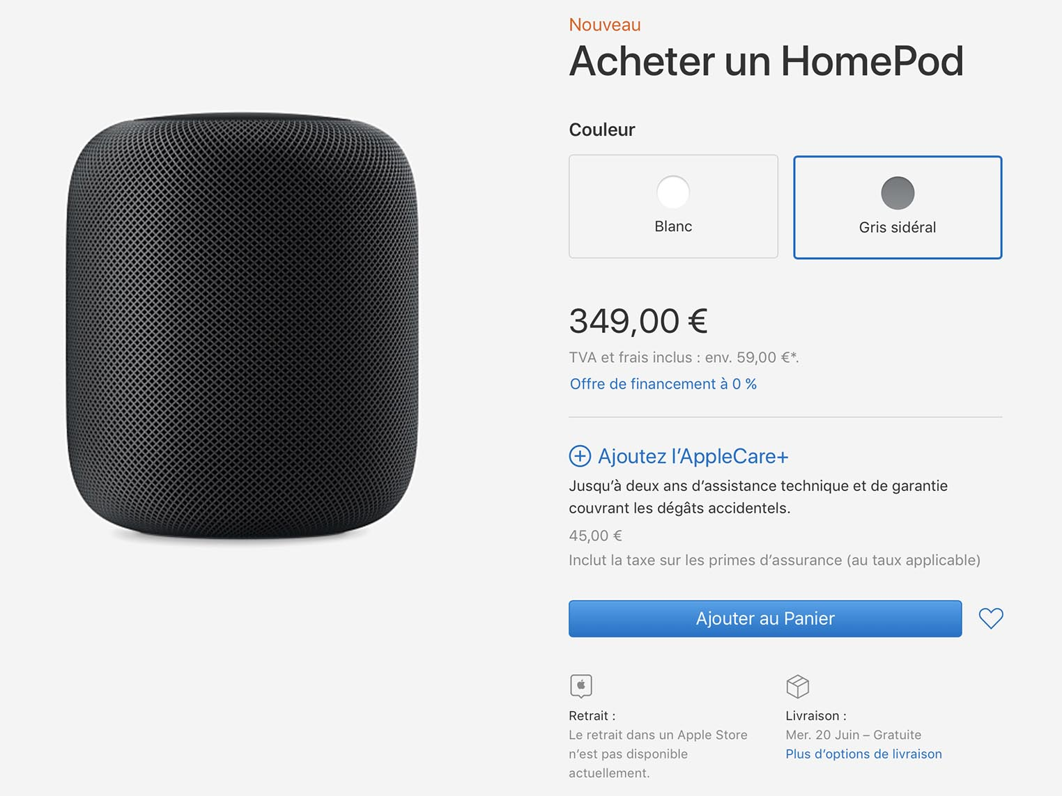 HomePod Apple Store