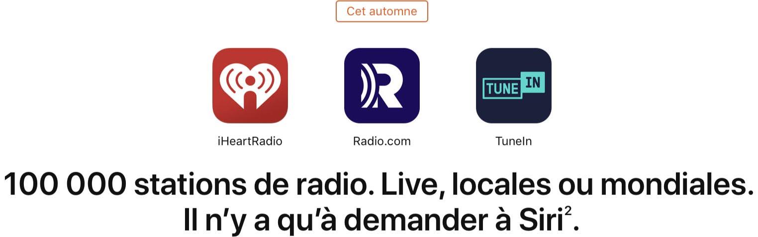 HomePod radio