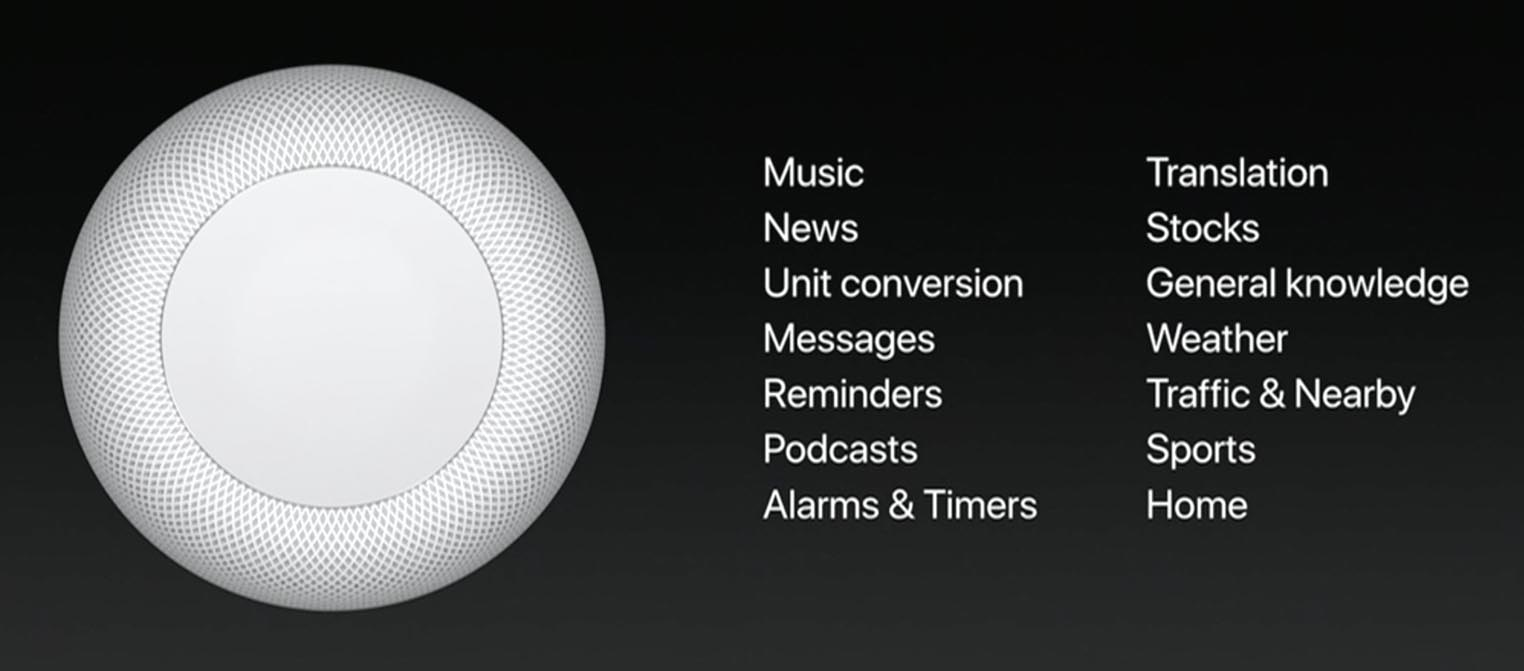 HomePod keynote