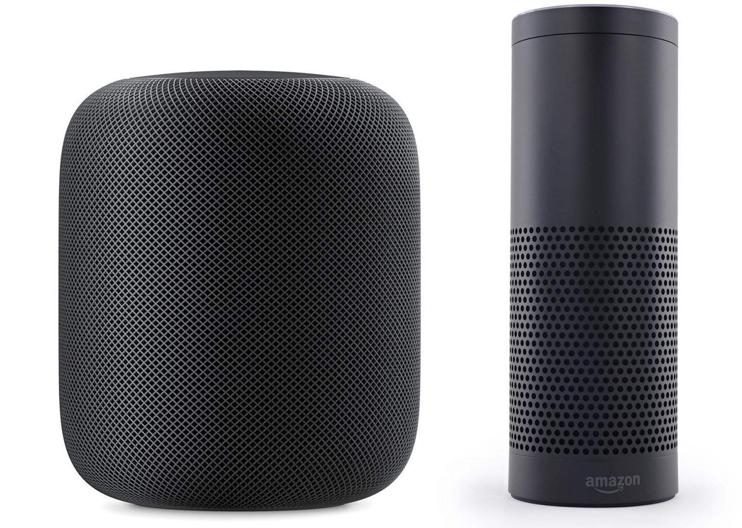 HomePod Amazon Echo