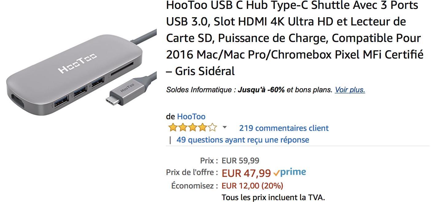 Hootoo USB-C Amazon