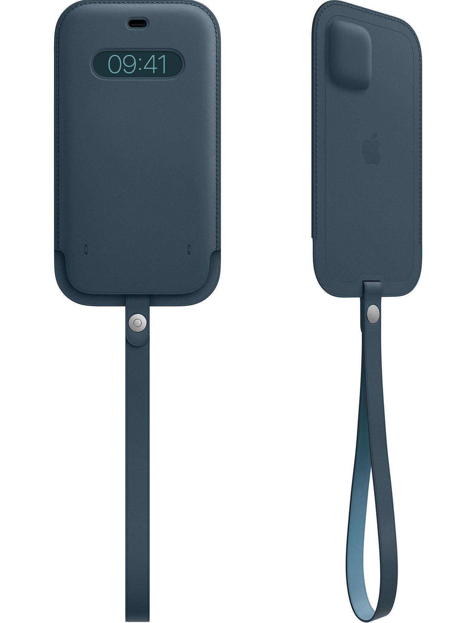 Housse en cuir MagSafe pour iPhone 12