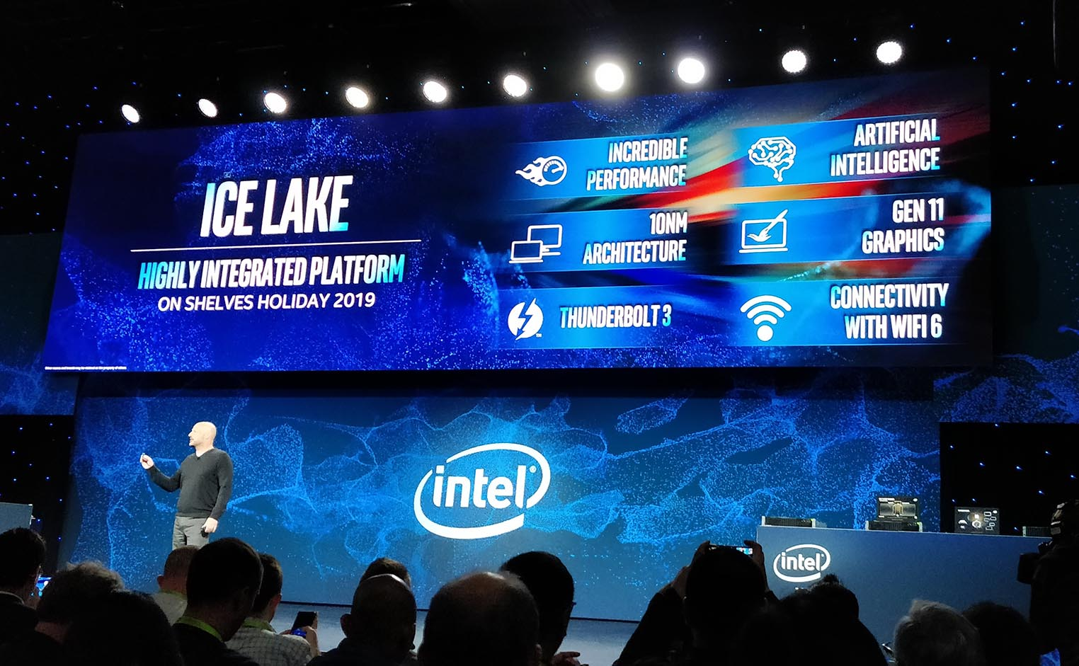 Intel Ice Lake keynote