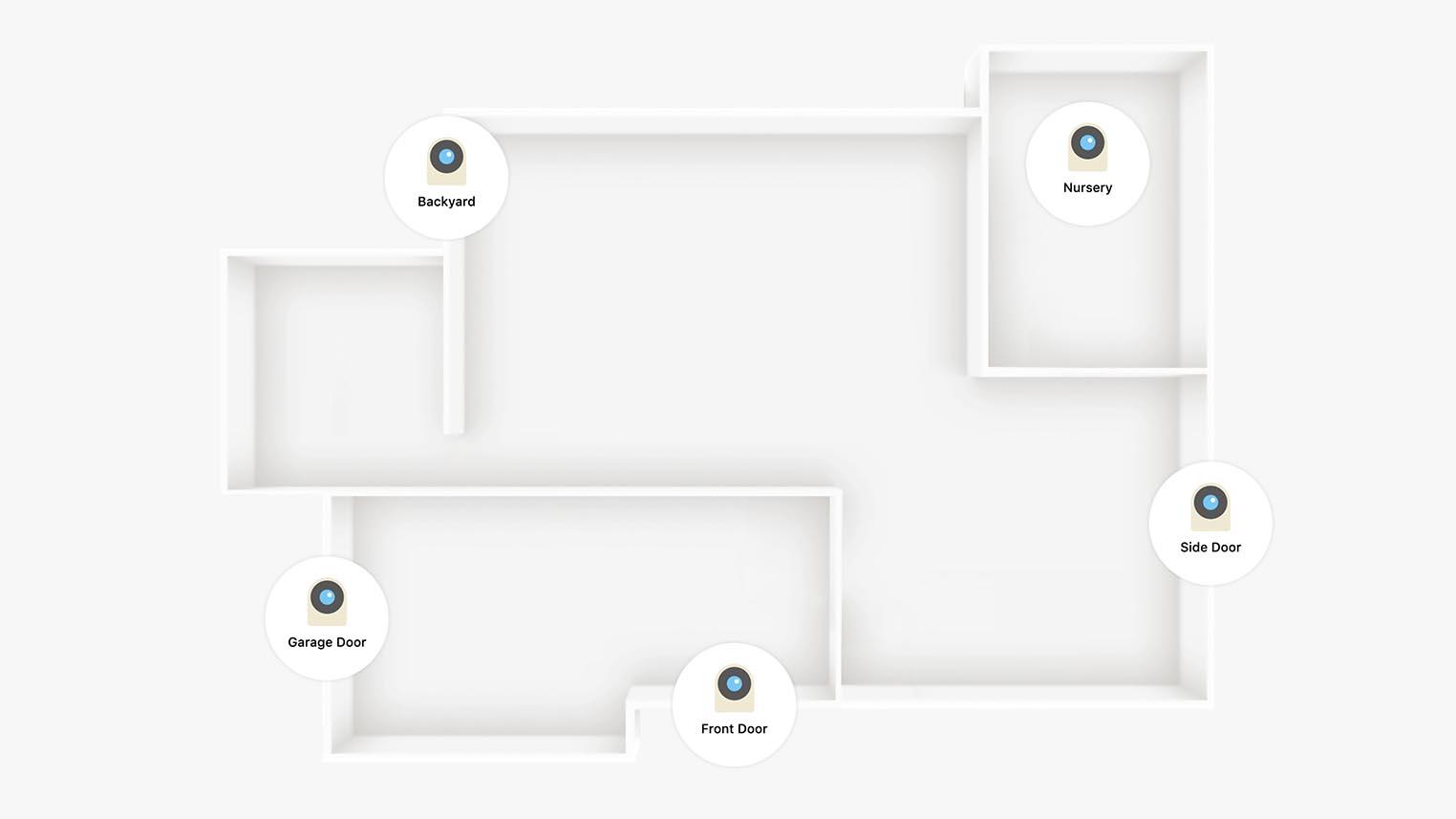 iCloud+ Caméras